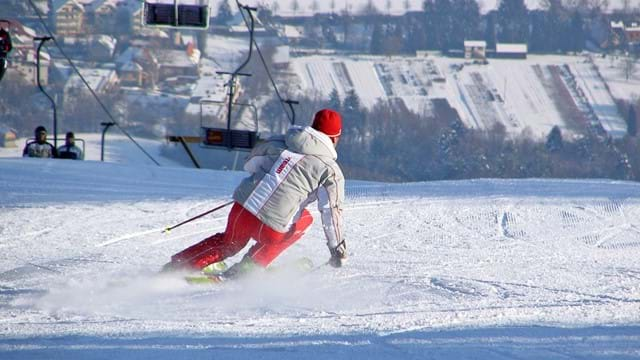 Giant slalom race (for groups)