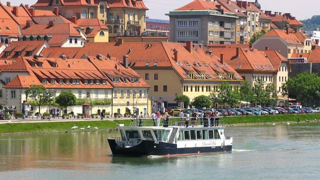 Embark on the Drava Fairy riverboat