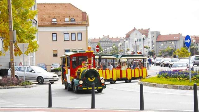Ride through Maribor with the city train Jurček