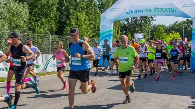 """zDravo Jutri"" (Healthy Tomorrow or To Tomorrow with the Drava River) Run"