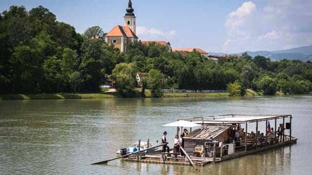 Maribor-Pohorje destination through the eyes of Drava timber rafters