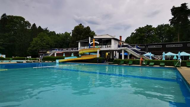 Maribor Island Swimming Pool